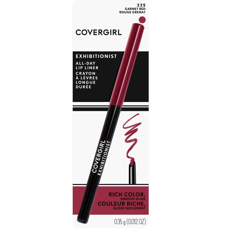Covergirl delineador de labios exhibitionist Garnet Red Lip Liner