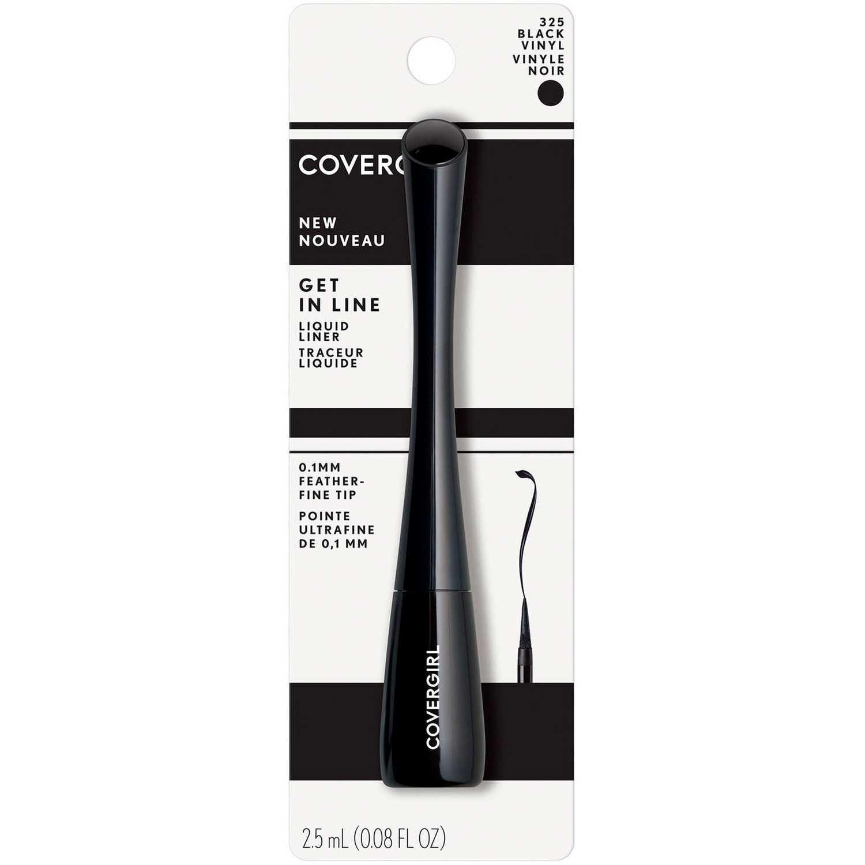 Covergirl delineador ojos get in line Black Vinyl Delineador y Sombra Combinaciones