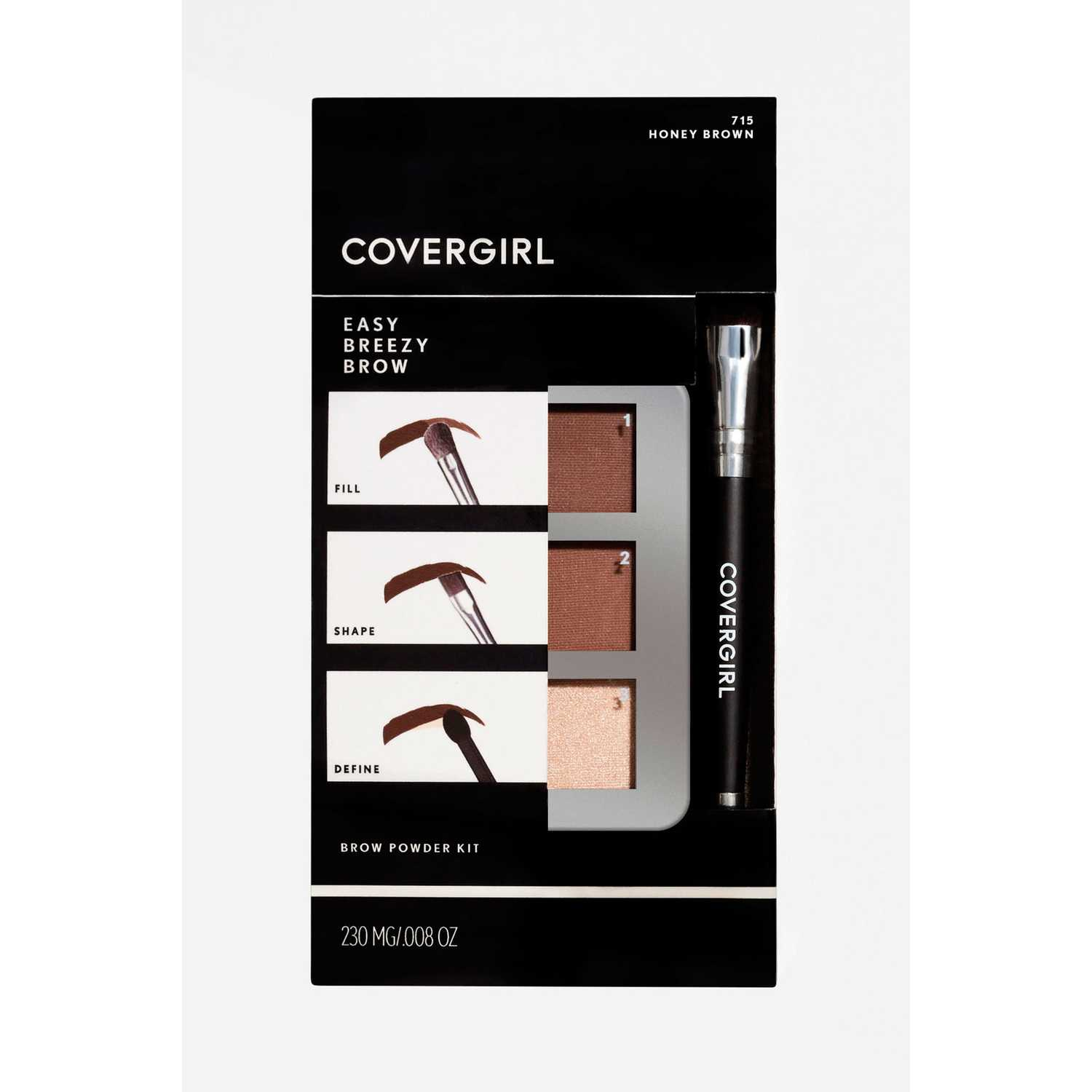 Paleta de sombras  Covergirl Honey Brown 715 brow brow kit