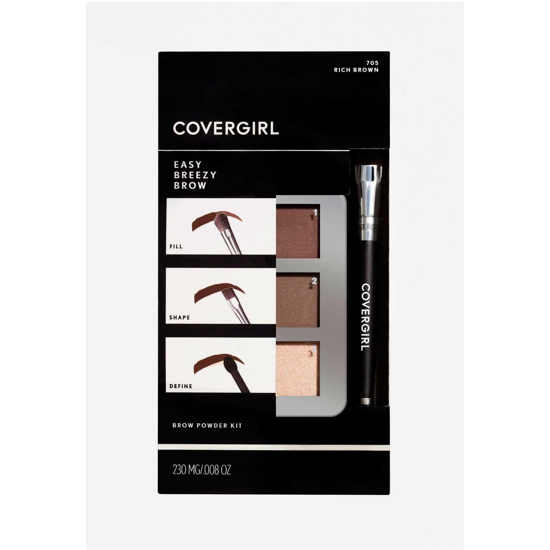 Covergirl Brow Brow Kit Rich Brown 705 Paletas de maquillaje
