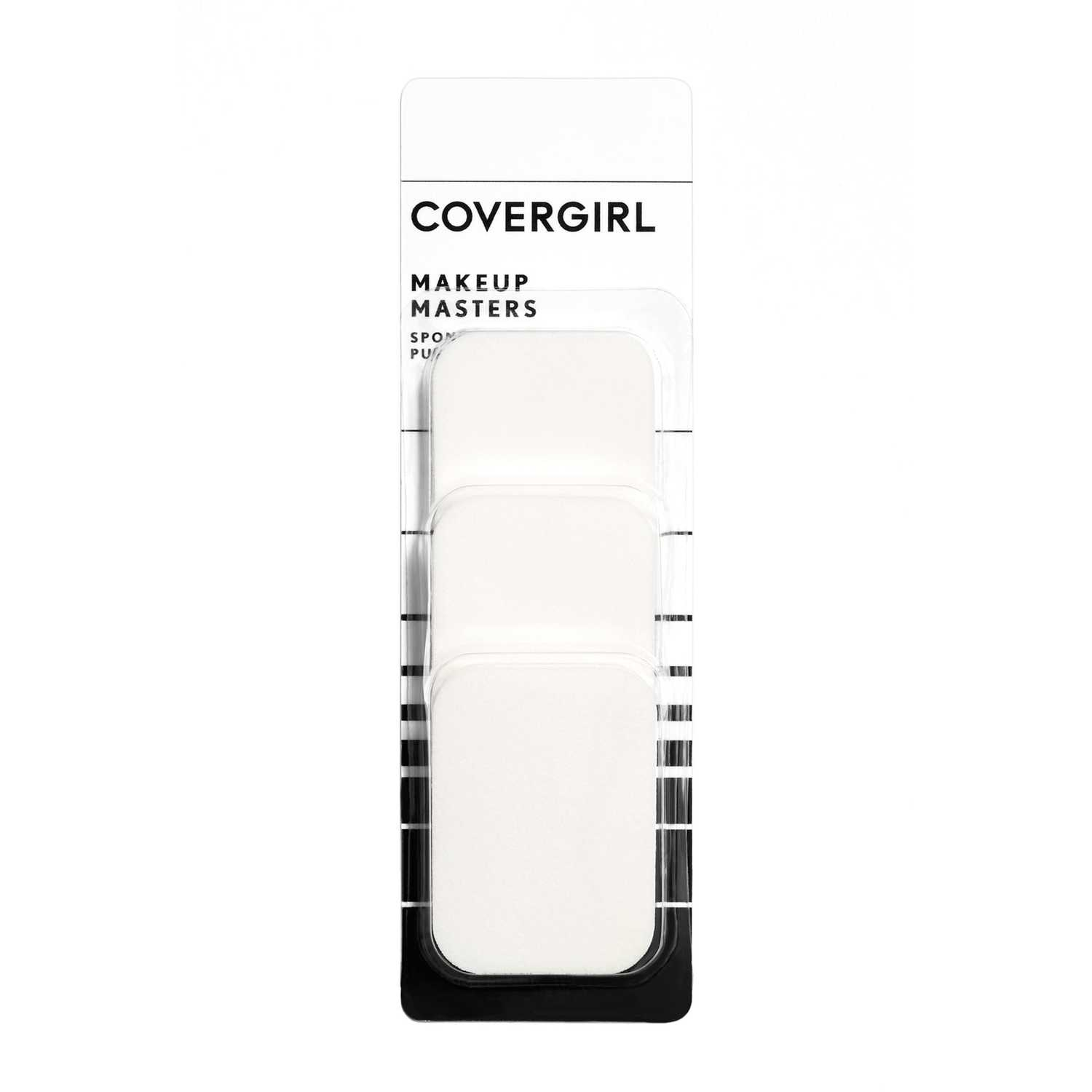 Covergirl Esponjas Base Make Up Masters Blanco Blenders y esponjas
