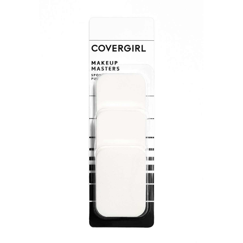 Covergirl Esponjas Base Make Up Masters Blanco Licuadoras y Esponjas