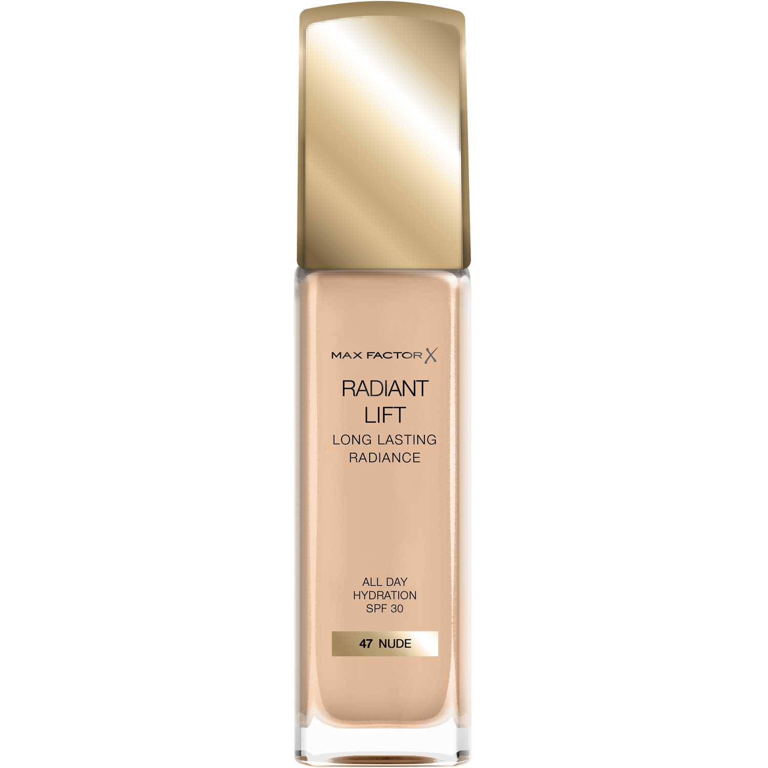 Max Factor Base Radiant Lift Long Lasting Radiance Nude Fundación