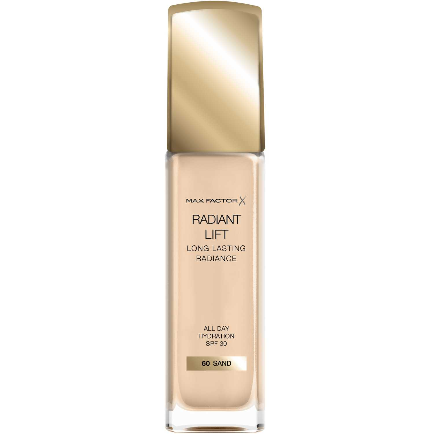 Max Factor Base Radiant Lift Long Lasting Radiance Sand Fundación