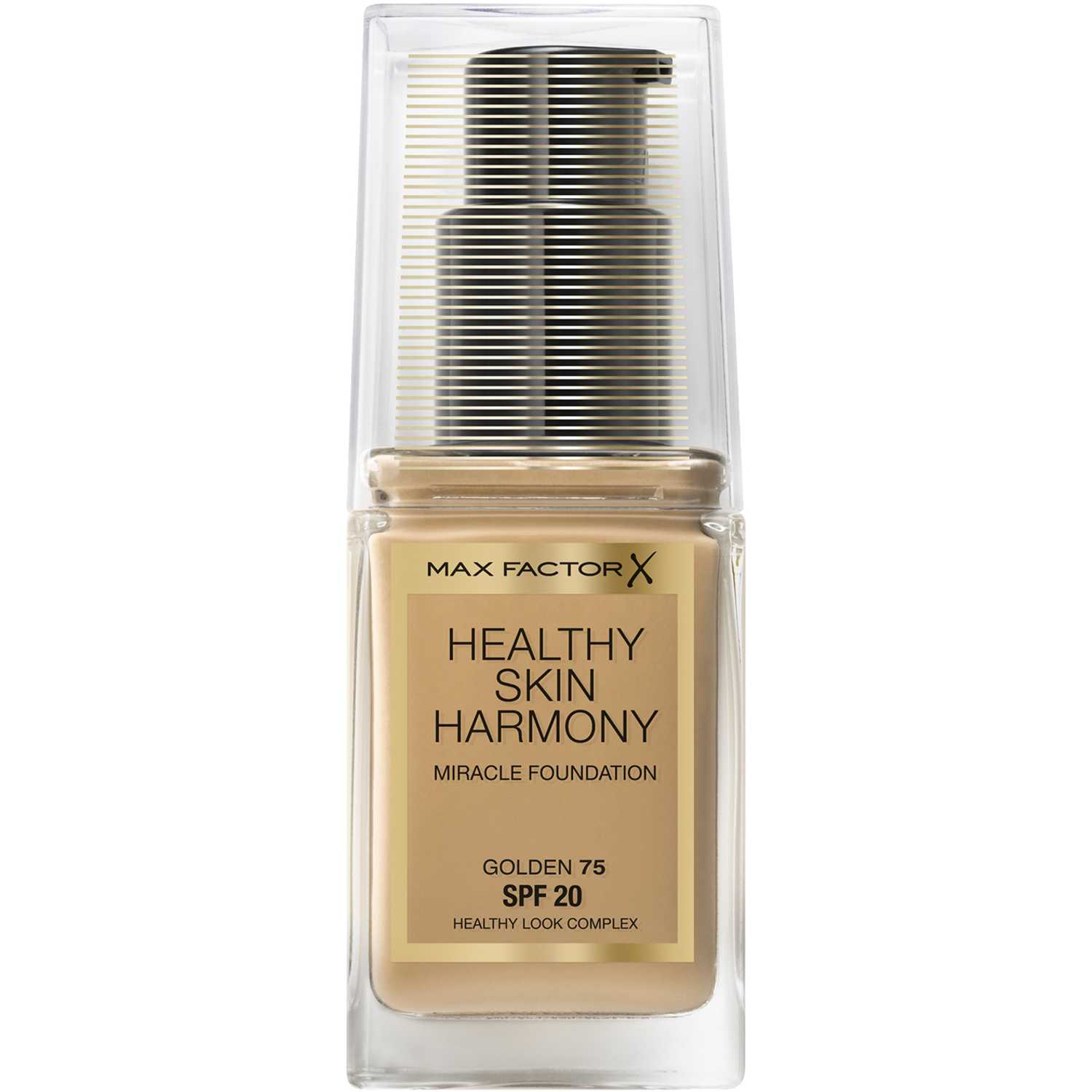 Max Factor Base de maquillaje Healthy Skin Harmony Miracle Golden Fundación