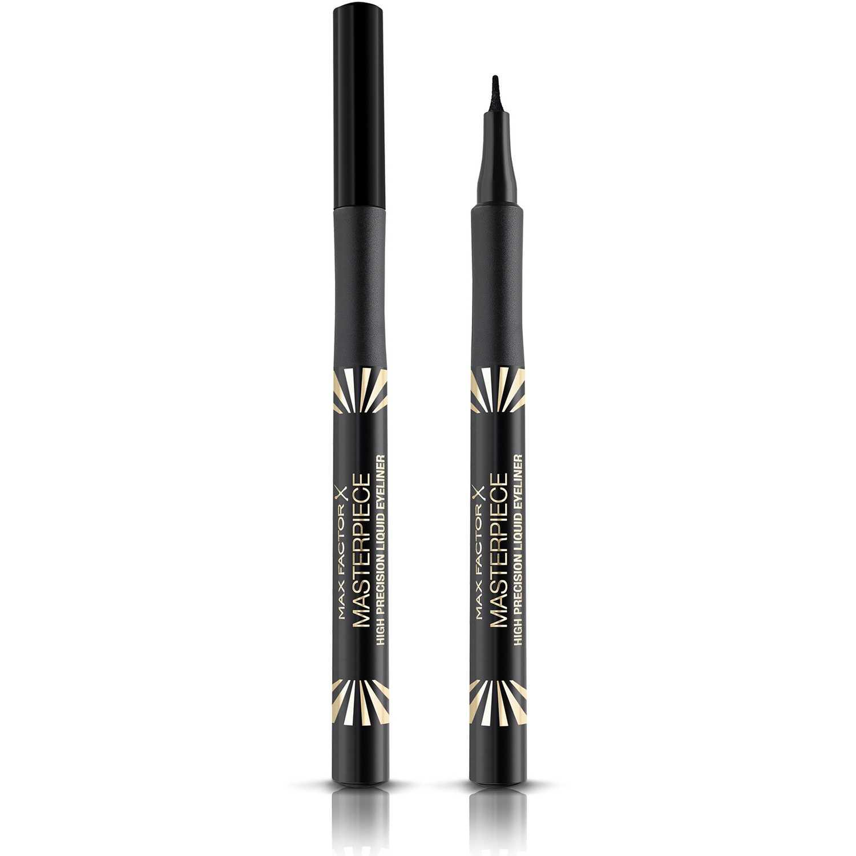 Max Factor Deline Masterpiece High Precision Liquid Eyeliner Black Combinaciones de sombra y delineador