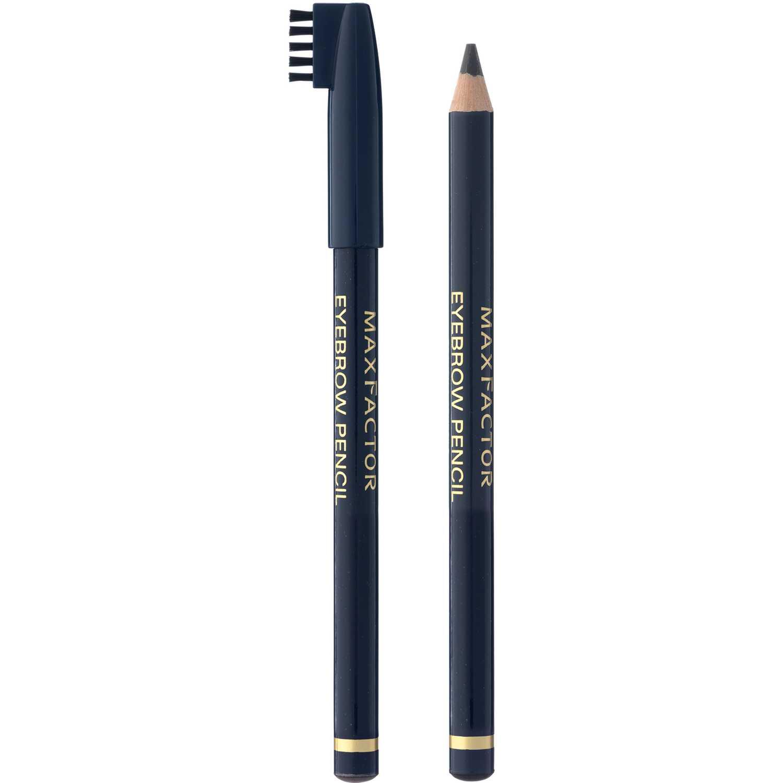 Max Factor Delineador Eyebrow Pencil Ebony Combinaciones de sombra y delineador