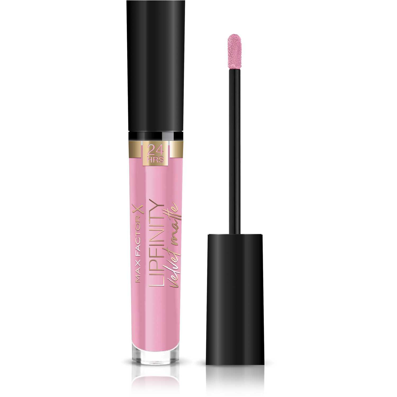 Max Factor Labial Lipfinity Velvet Matte Pink Dip Lápiz labial
