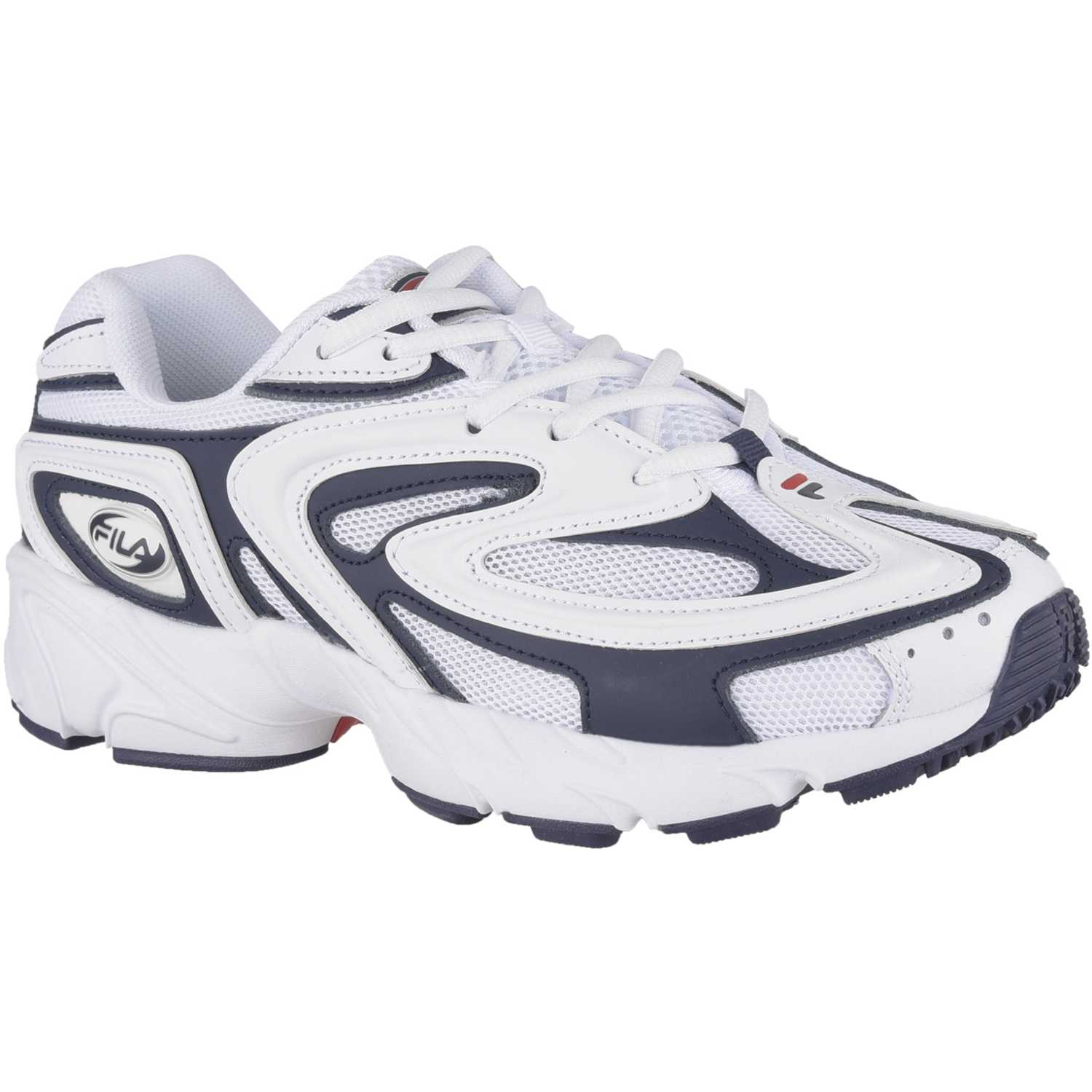 Fila fila buzzard fem Blanco / negro Walking