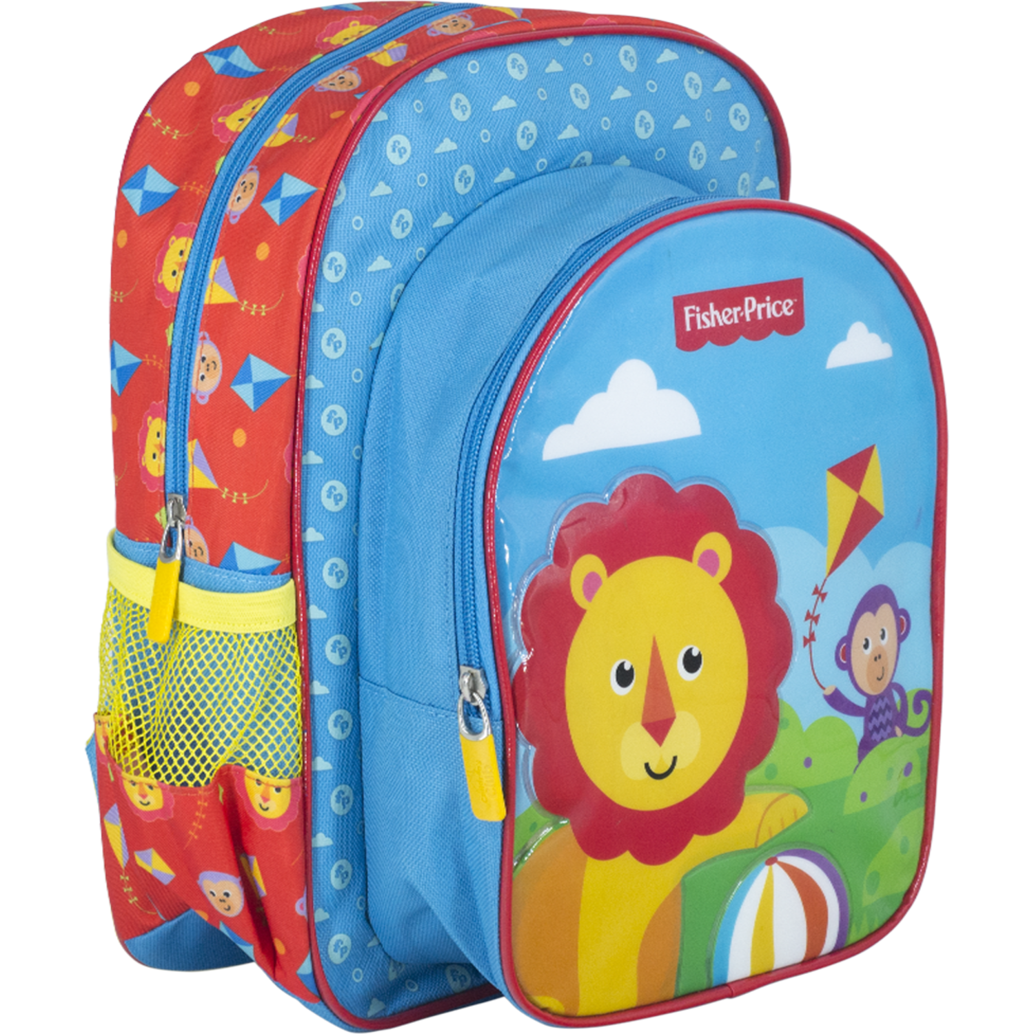 Fisher Price minimochila snacker fisher price Celeste mochilas