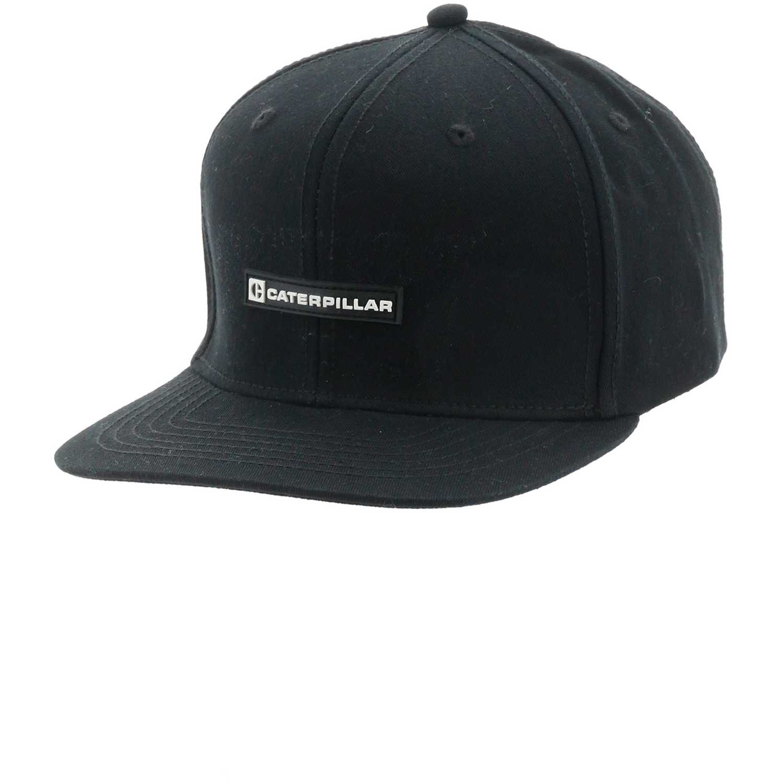 Gorros de Hombre CAT Negro mfg flatbrim hat