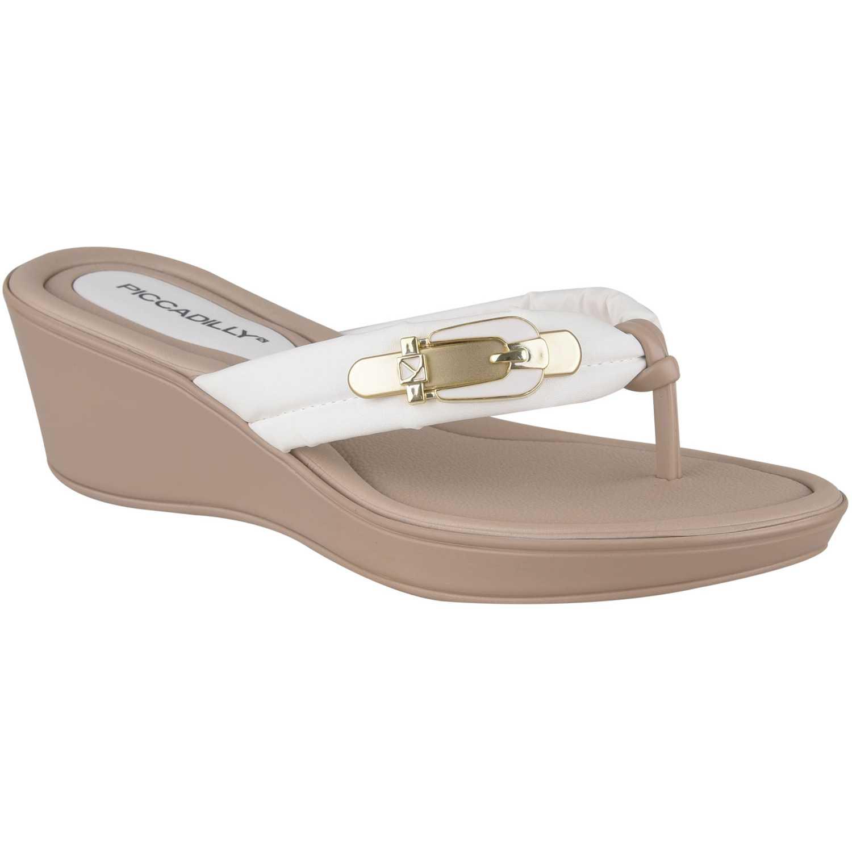 Piccadilly sandalia 540231-2-2 Blanco Plataformas & Cuñas