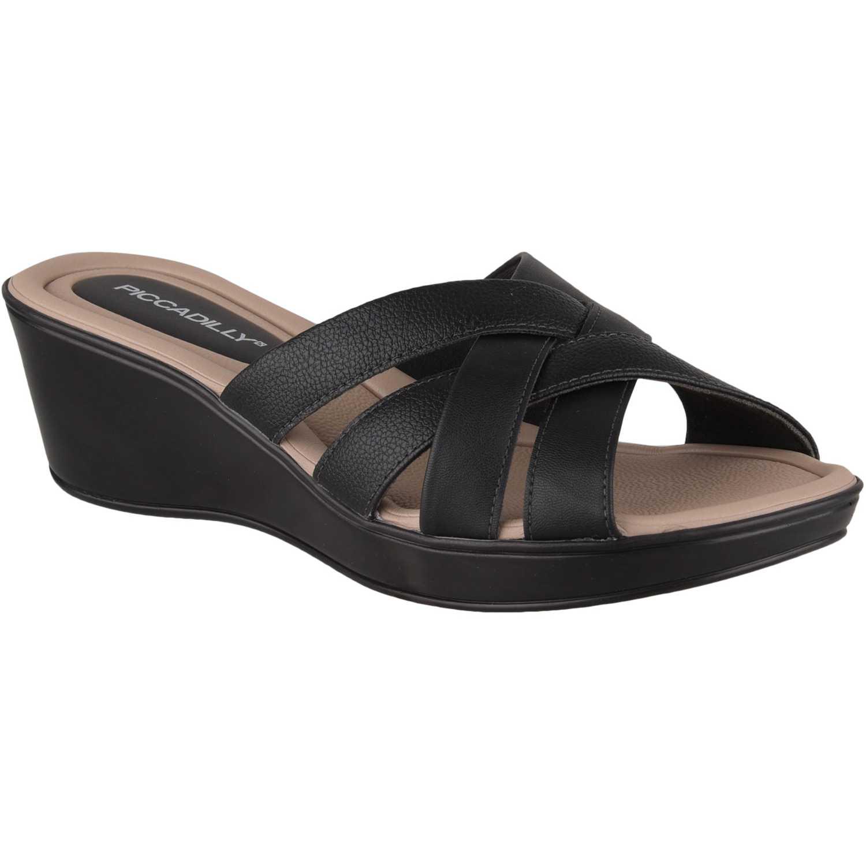 Cuña de Mujer Piccadilly Negro sandalia 540244-9-2
