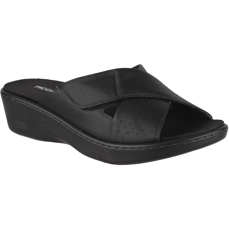 Cuña de Mujer Piccadilly Negro sandalia  568014-9-2
