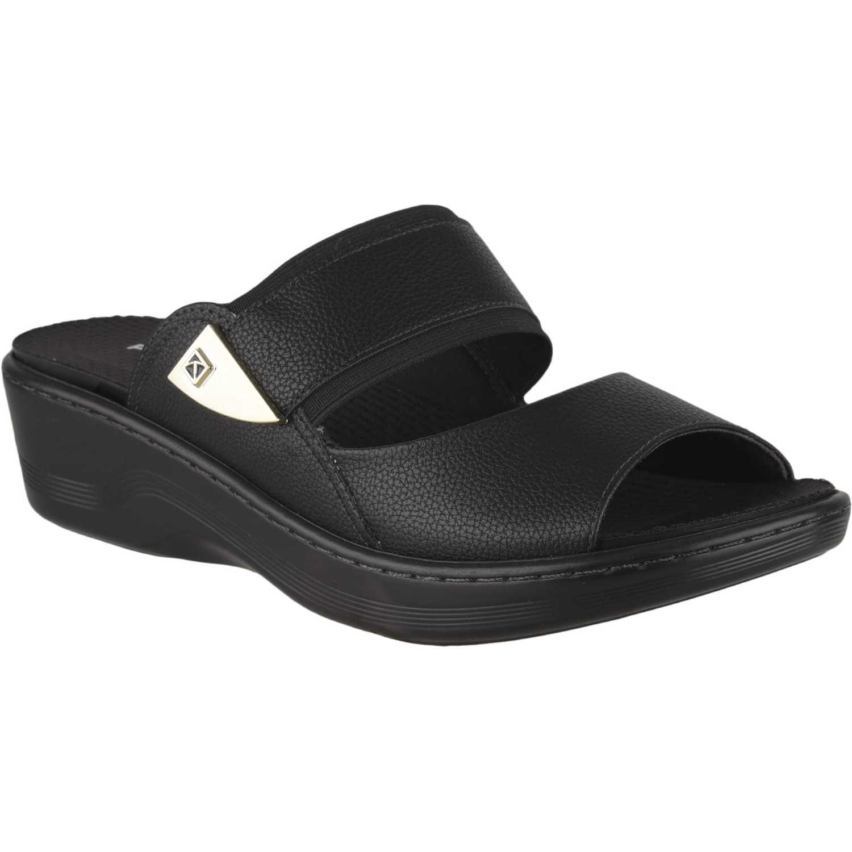 Cuña de Mujer Piccadilly Negro sandalia  568016-9-2