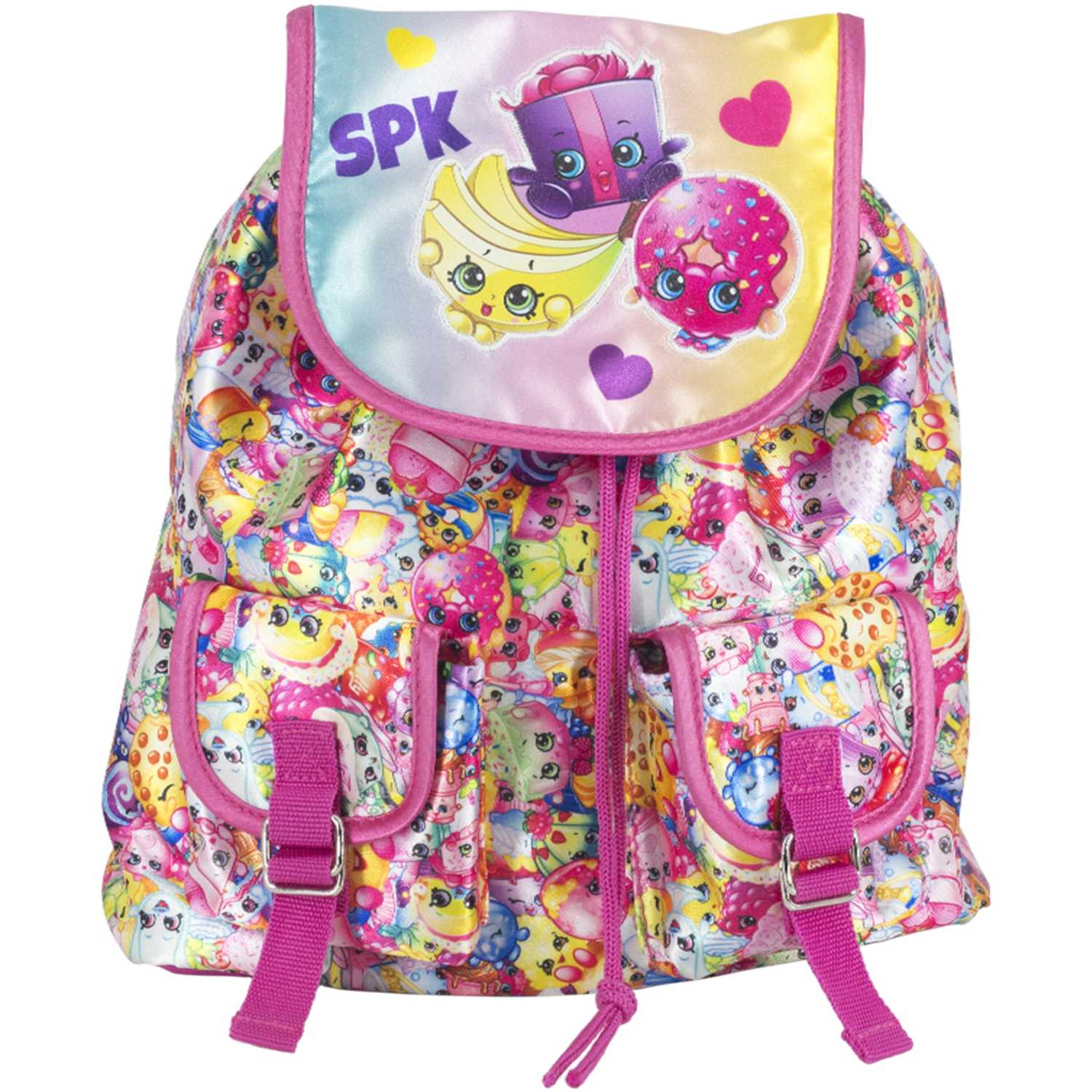 Shopkins Mini Mochila Shopkins Rosado Mochilas