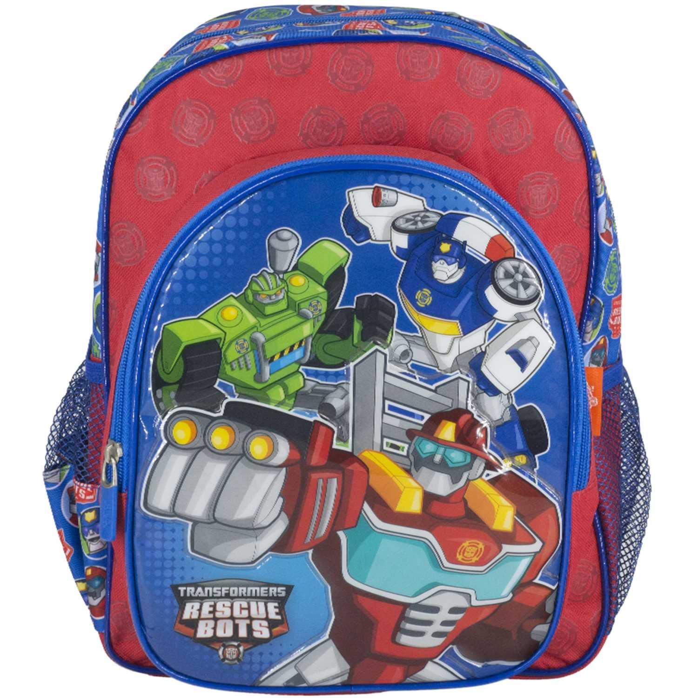 Transformers minimochila transformers rescue bots Rojo mochilas