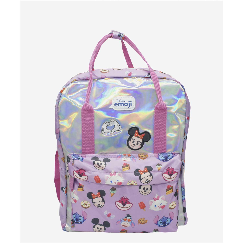 Minnie minimochila disney emoji Lila mochilas
