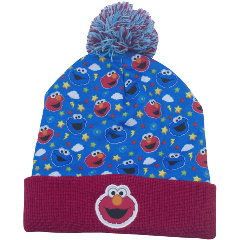 Casual de Niño Sesamo Azul / rojo gorro invierno sesamo