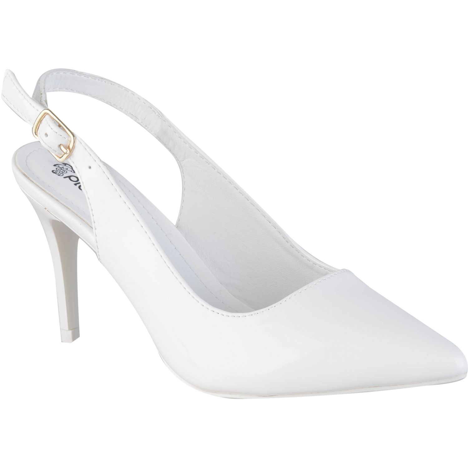 Platanitos cv 502ch Blanco Estiletos y Pumps