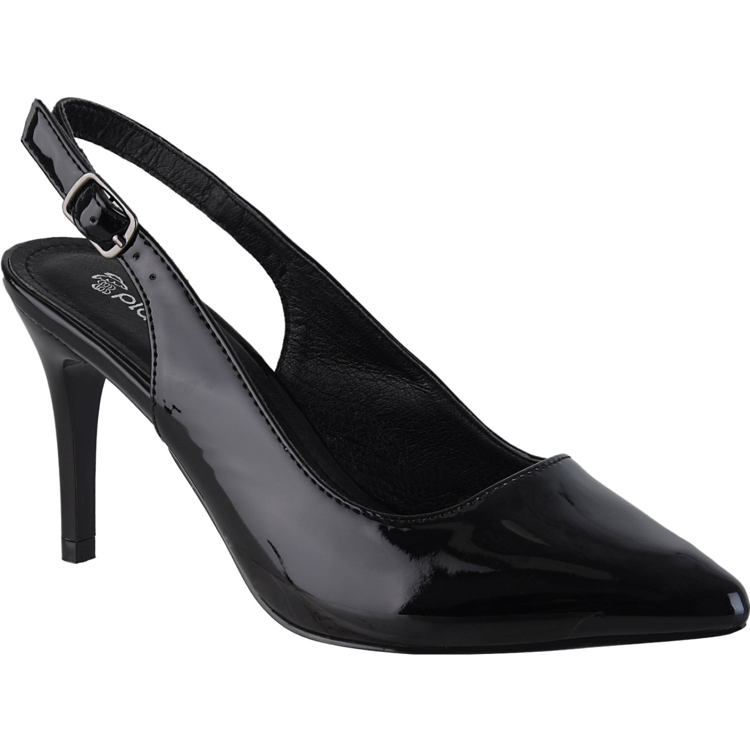 Platanitos Cv 502ch Negro Estiletos y Pumps