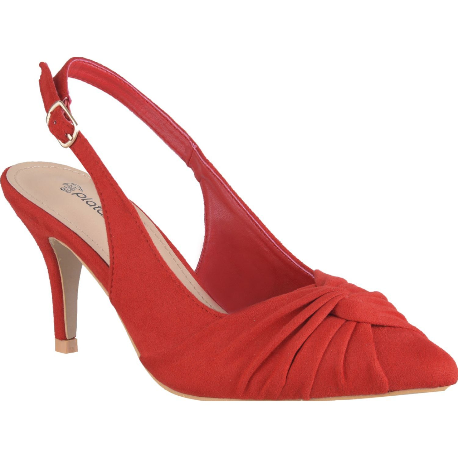 Platanitos cv 6501 Rojo Estiletos y Pumps