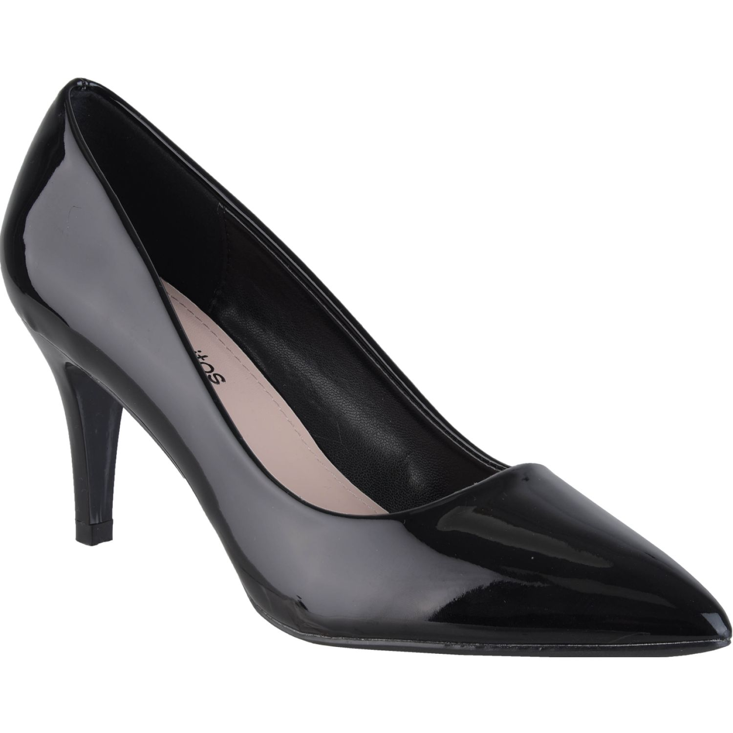 Platanitos cv 8811 Negro Estiletos y Pumps