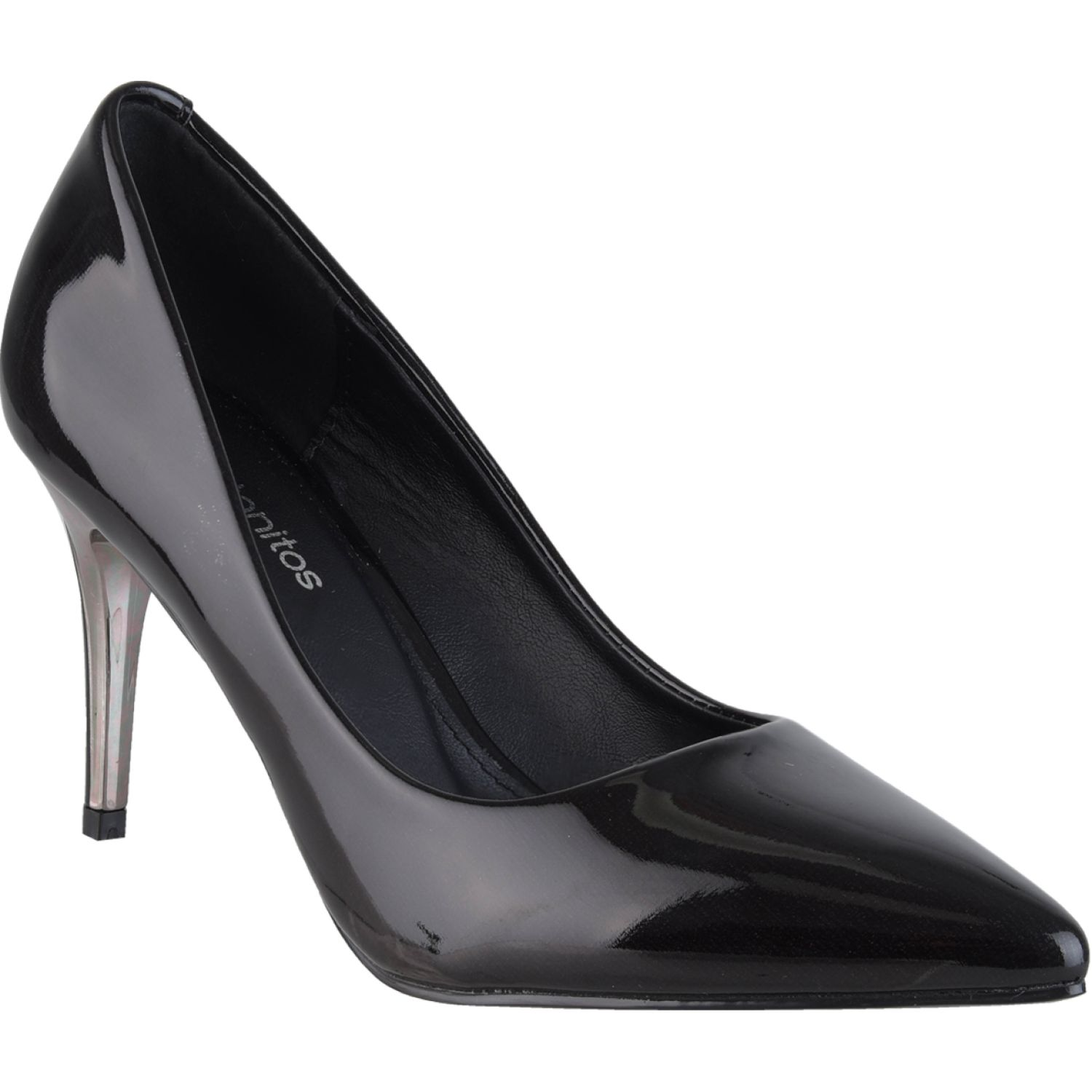 Platanitos cv 6886 Negro Estiletos y Pumps