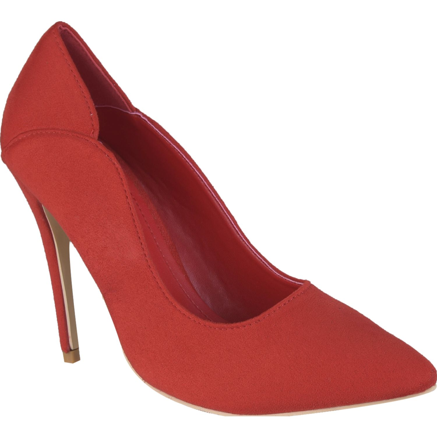 Platanitos cv 0081 Rojo Estiletos y Pumps