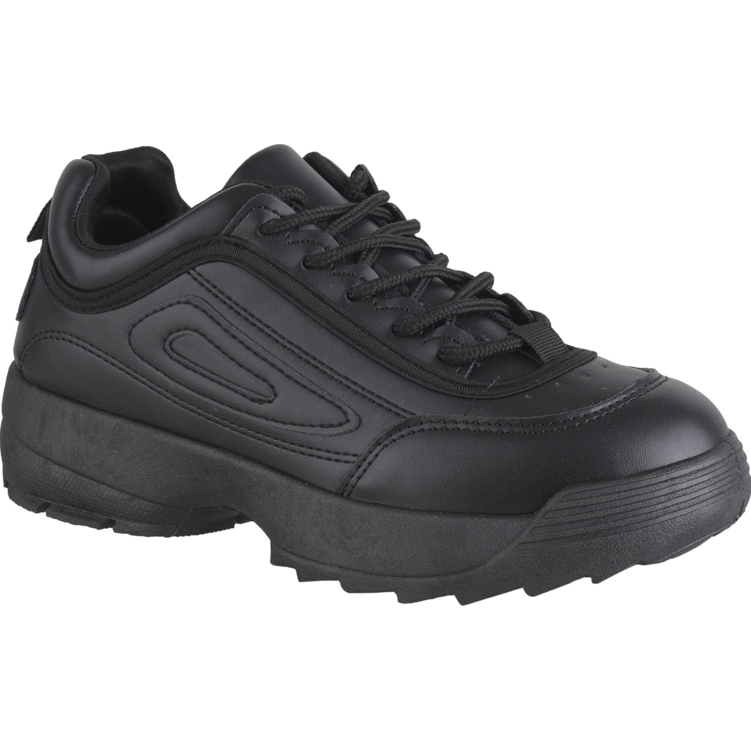 Platanitos Z 6061 Negro Zapatillas Fashion