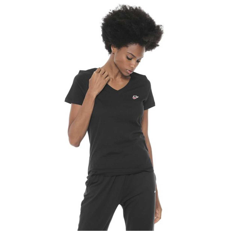 Camisetas de Mujer Nike Negro w nsw tee lbr