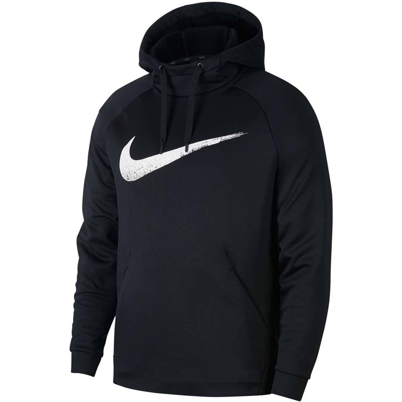 Nike m nk thrma hd po ls gfx Negro Sweatshirts Deportivos