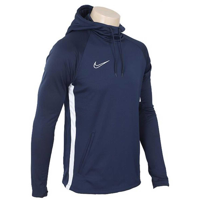 Nike m nk dry acdmy19 po hoodie Navy Sweatshirts Deportivos