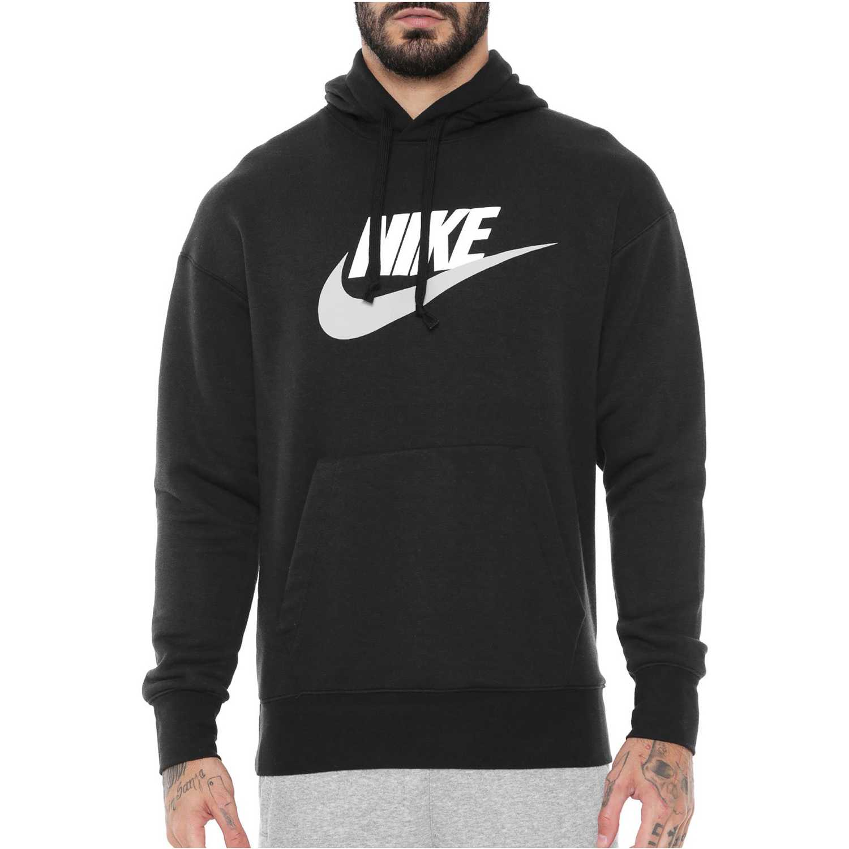 Polera de Hombre Nike Negro m nsw heritage hoodie po hbr