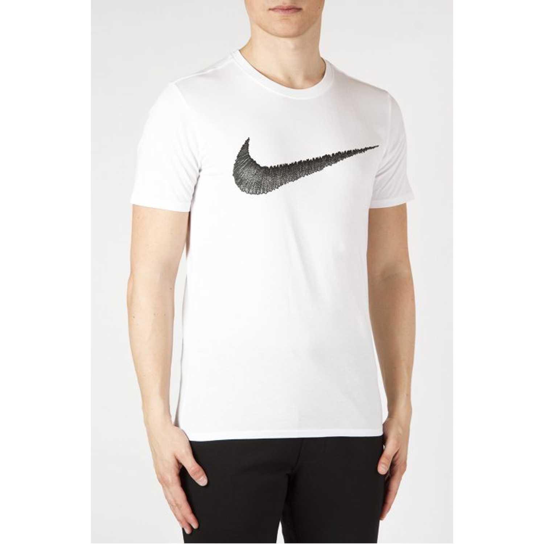 Nike m nsw tee hangtag swoosh Blanco Polos