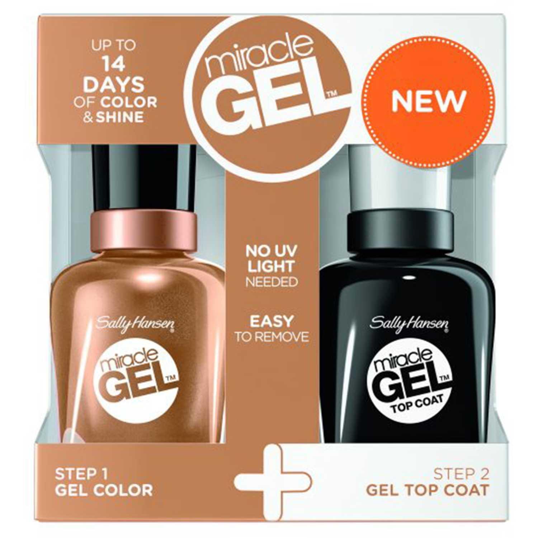 Sally Hansen Esmalte de uñas Miracle Gel Bronze & Effect Esmalte de uñas