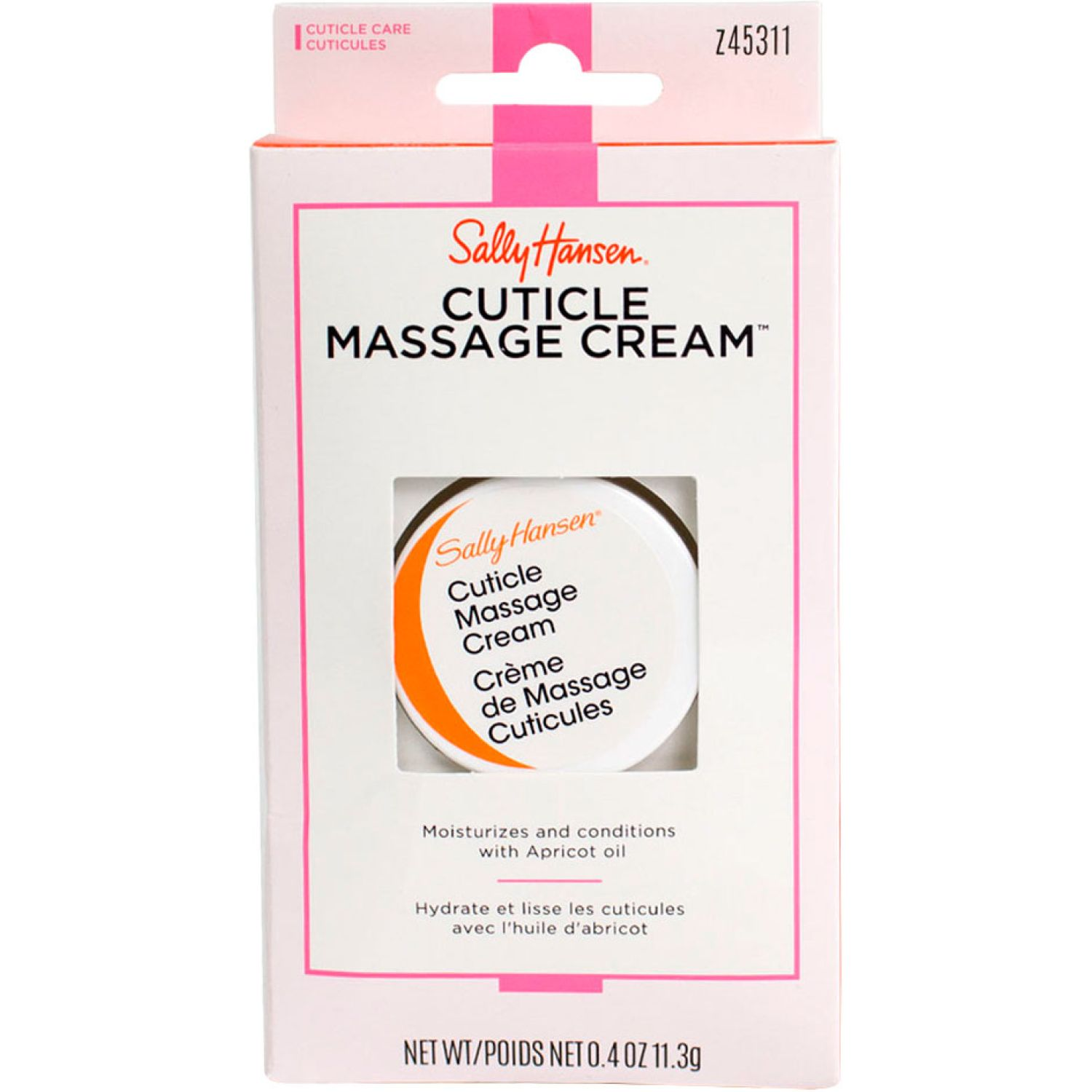 Sally Hansen Cuticle Massage Cream  11.3gr Varios Aceites y Cremas para Cutícula