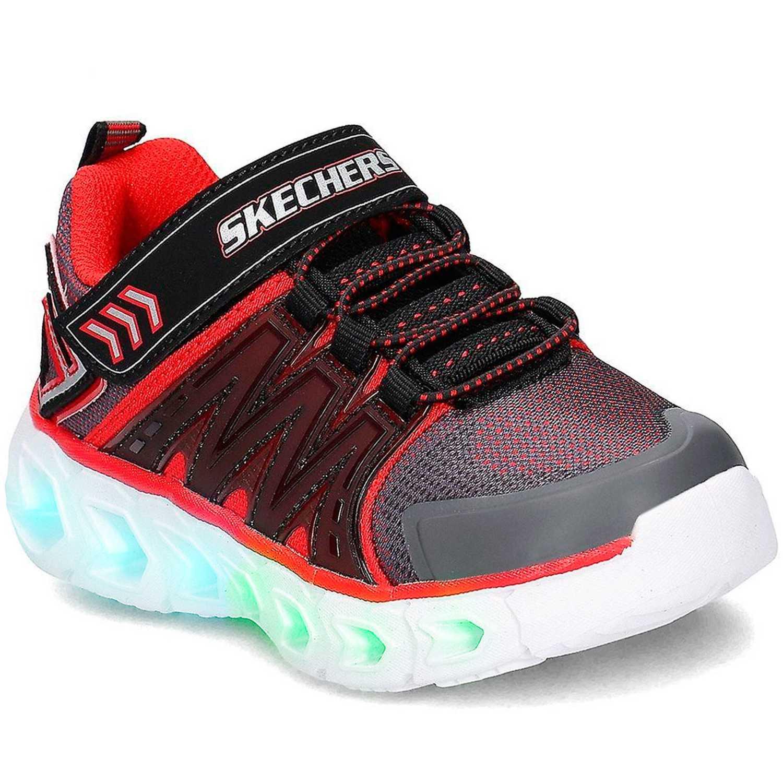 Skechers hypno-flash 2.0 Negro / rojo Walking