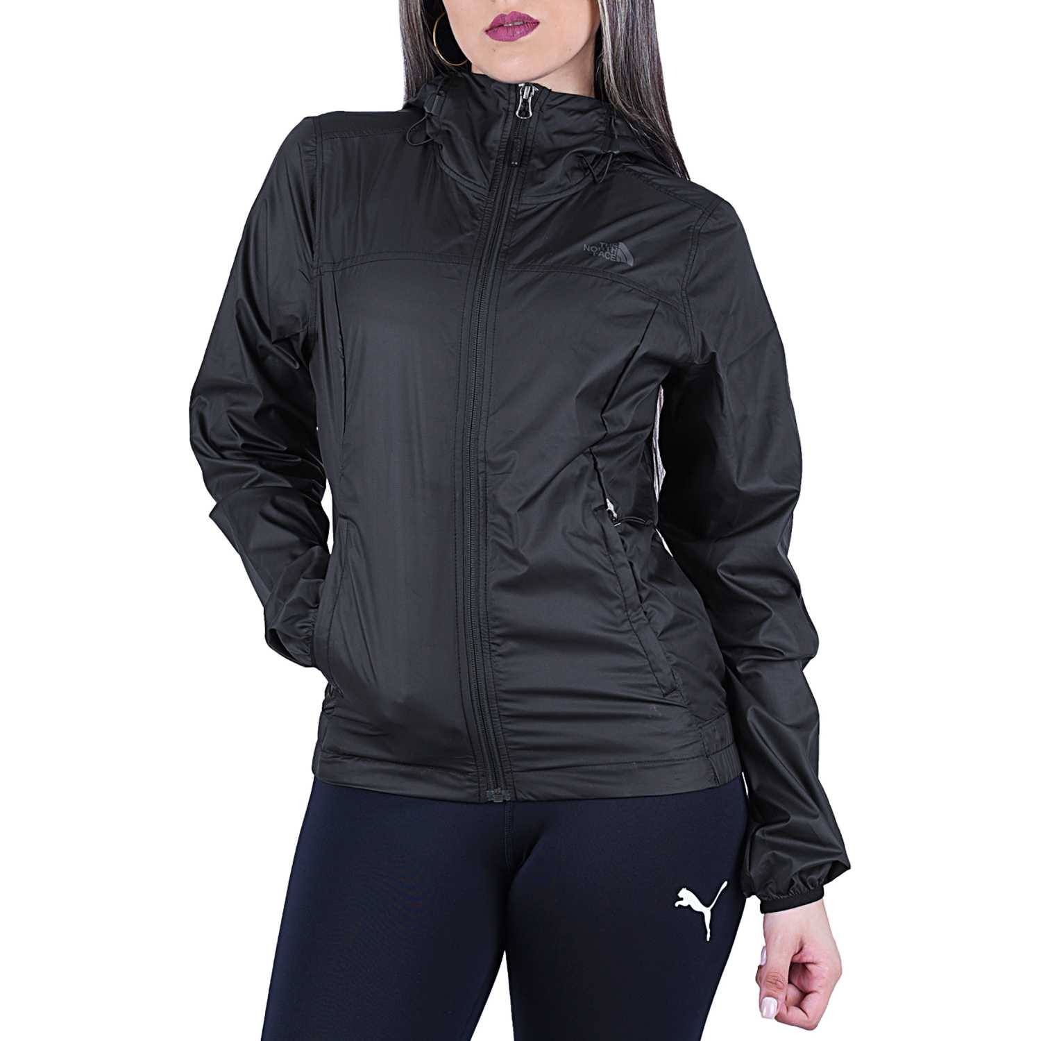 Base de Mujer The North Face Negro w cyclone jacket