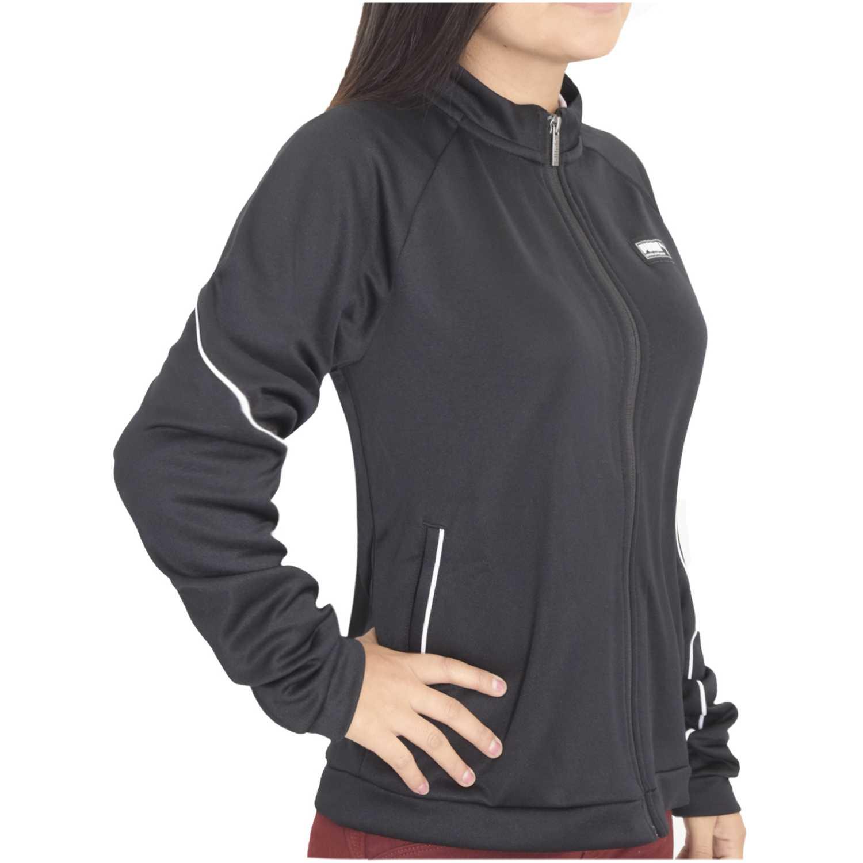 Casaca de Mujer Puma Negro / blanco fusion track jacket