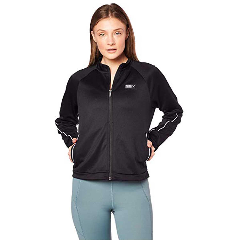 Puma fusion track jacket Negro / blanco Pullovers