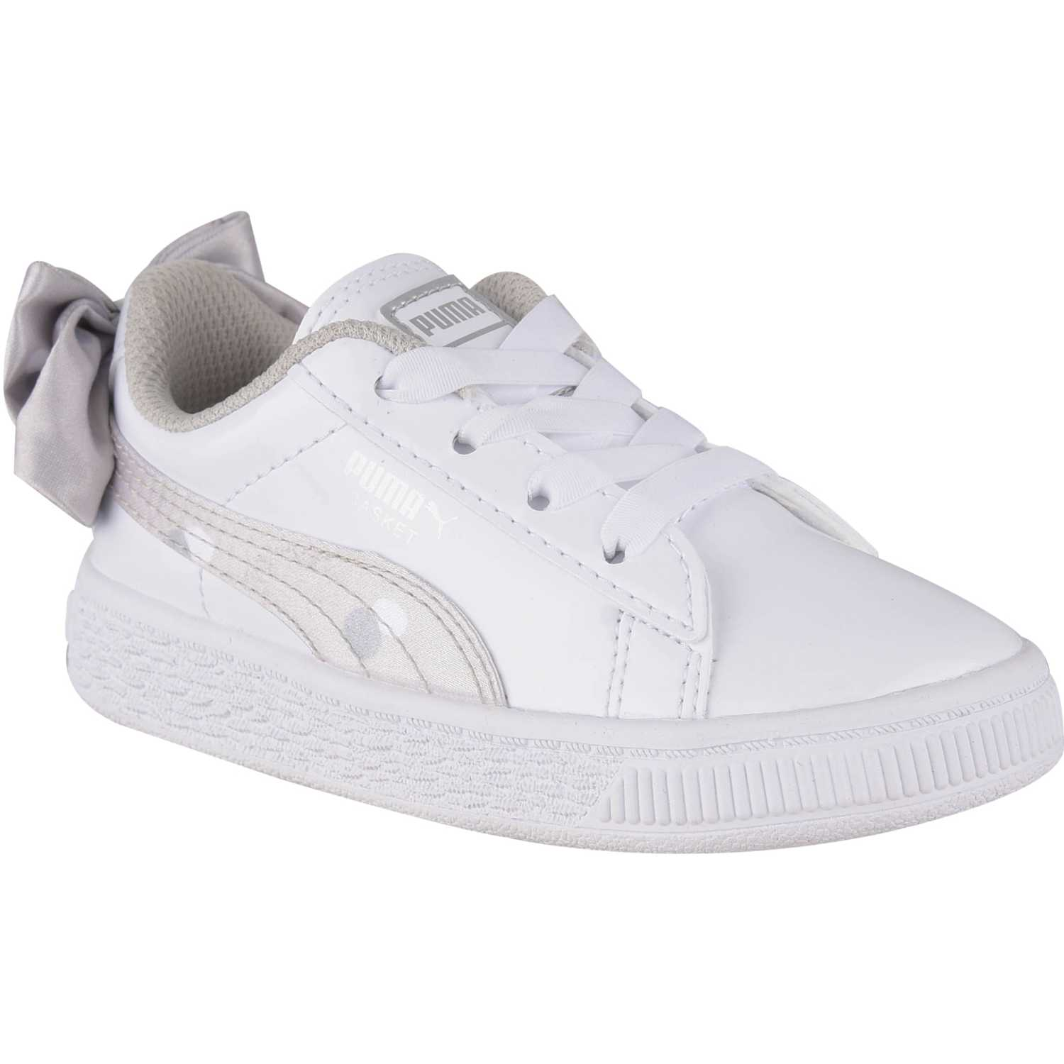 Puma basket bow dots ac inf Blanco Walking