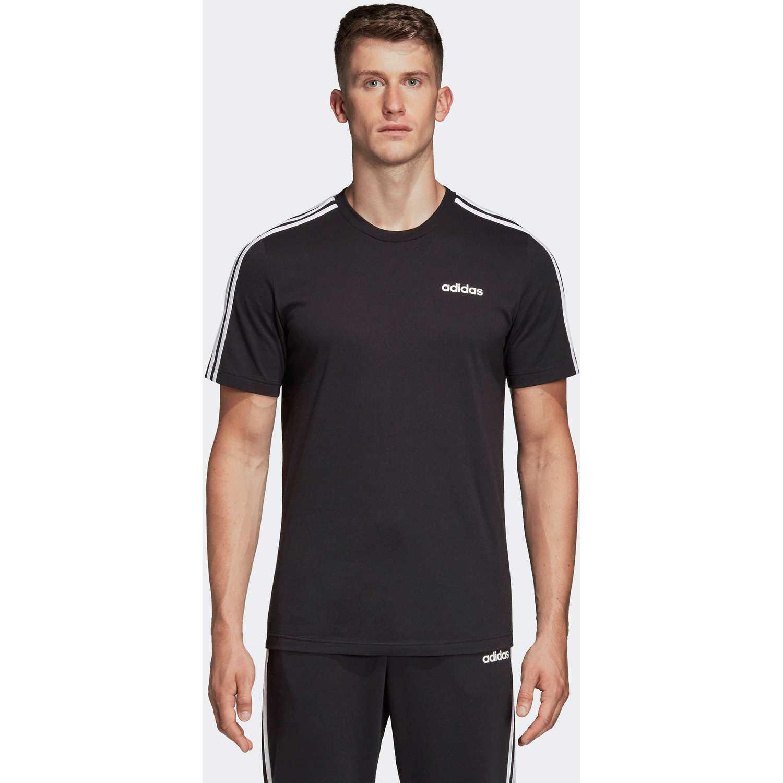 Adidas E 3S TEE Negro Camisetas y Polos Deportivos