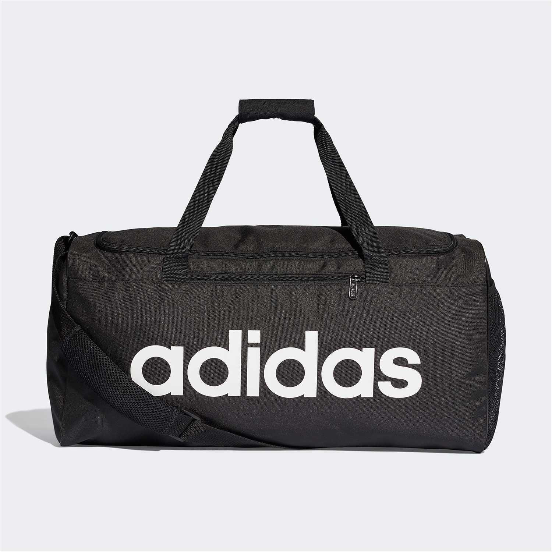 Adidas Lin Core Duf M Negro Bolsos de gimnasio