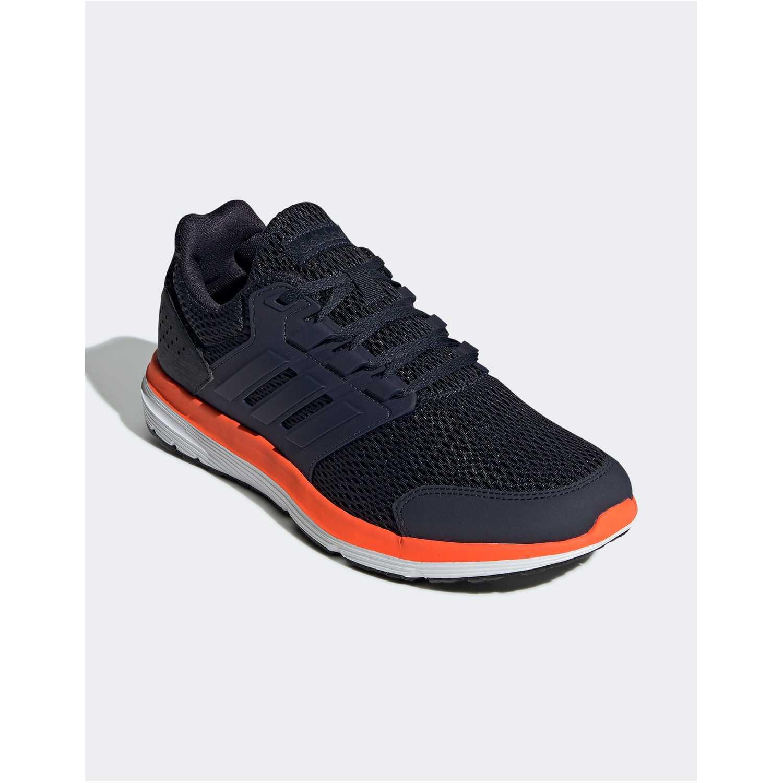 Zapatilla de Hombre Adidas Navy / Naranja galaxy 4