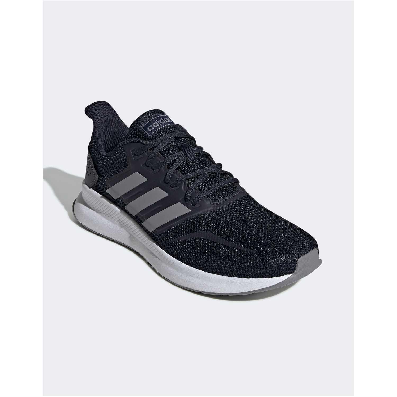 Zapatilla de Hombre Adidas Plomo/blanco runfalcon
