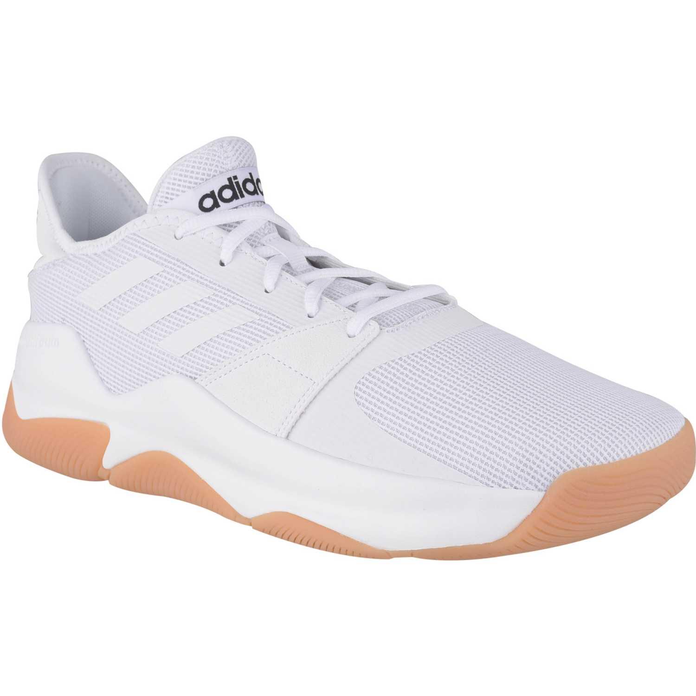 Basquet de Hombre Adidas Blanco streetflow
