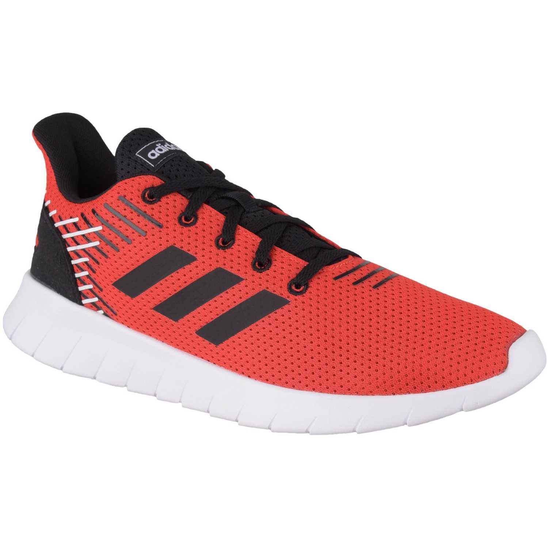 Adidas asweerun Rojo / negro Running en pista