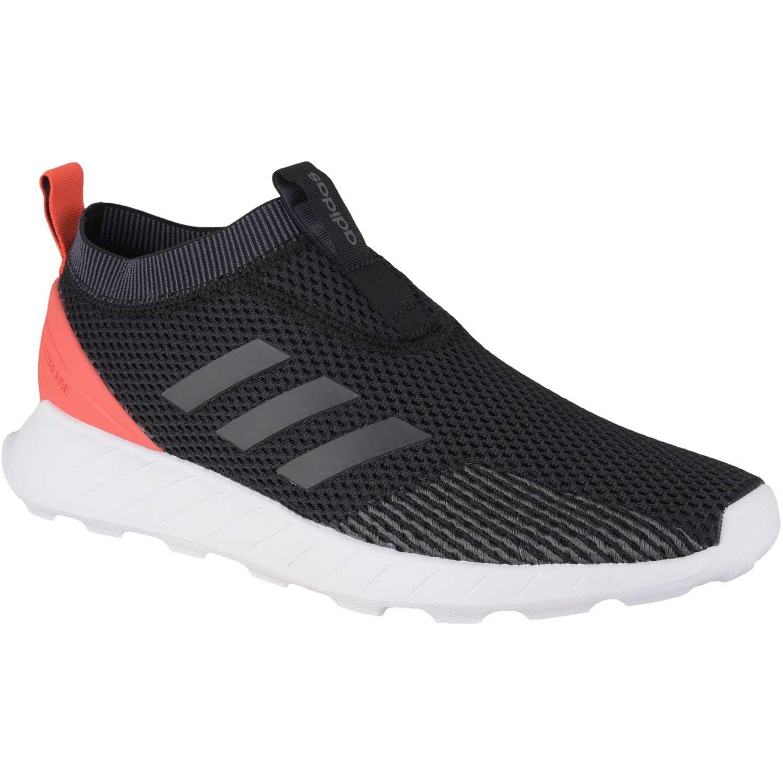 Zapatilla de Hombre Adidas Negro / naranja questar rise sock