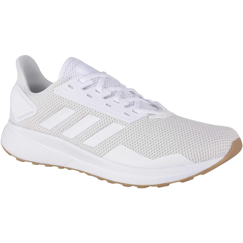 Adidas Duramo 9 Beige / blanco Correr por carretera